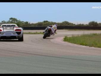 Yamaha YZF R1 vs. Porsche 918