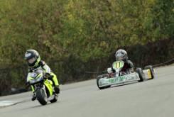 Fast Racer Kids Kart vs Minimoto 16