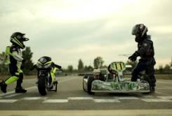 Fast Racer Kids Kart vs Minimoto 7