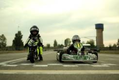 Fast Racer Kids Kart vs Minimoto 9