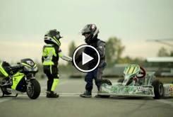 Play Fast Racer Kids Kart vs Minimoto 22