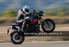 Prueba Triumph Speed Triple R 2016