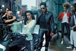 penelope cruz in red leather catsuit rides an mv agusta in zoolander 2 video 1