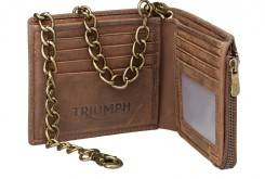 MLUS16250 LEATHER WALLET w CHAIN 185 HRp