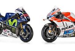 Yamaha YZR M1 vs Desmosedici GP