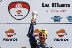 FIM CEV 2016 Lorenzo Dalla Porta Le Mans
