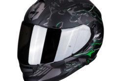 MBKScorpion exo 510 likid matt black green