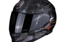 MBKScorpion exo 510 likid matt black orange