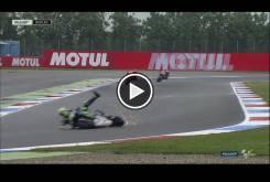 Caída Valentino Rossi GP Assen 2016 000