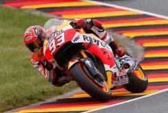 Marc Marquez Sachsenring 2016 MotoGP Pole