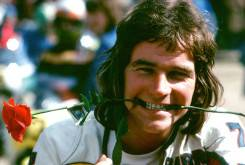 Barry Sheene homenaje Silverstone