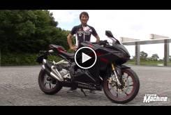 Video Honda CBR250RR 2016 Young Machine