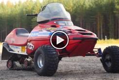 snowmobile wheels play