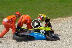 caida rins moto2 australia 2016