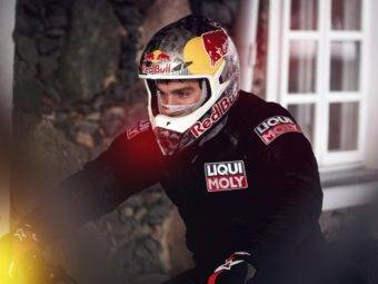 snow drifting motorbike stunt rider arunas gibieza 1