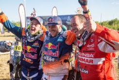 Gerard Farrés Dakar 2017 podio 01