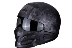 MBKScorpion exo combat stealth matt black silver