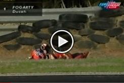 Caída Fogarty Phillip Island 2000