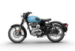 Royal Enfield Classic 500 Female Side Blue