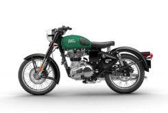 Royal Enfield Classic 500 Female Side Green