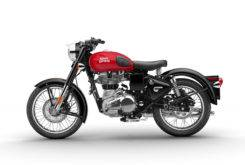 Royal Enfield Classic 500 Female Side RED