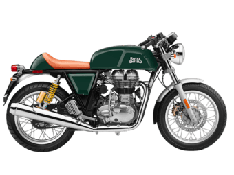 Royal Enfield Continental GT verde