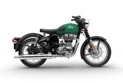 Royal Enfield Side Male Classic 500 Green