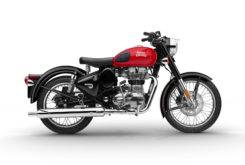 Royal Enfield Side Male Classic 500 Red