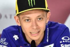 Valentino Rossi MotoGP Qatar 2017 rueda prensa