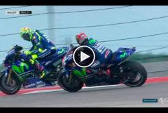 Maverick Vinales Valentino Rossi MotoGP Austin 2017