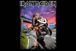 iron maiden bike tt man tshirt