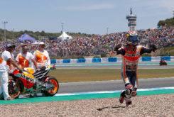 Dani Pedrosa MotoGP Jerez 2017 Celebracion
