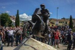 Estatua Fabrizio Meoni