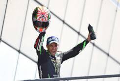 Johann Zarco podio MotoGP Le Mans 2017
