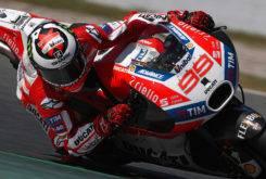 Jorge Lorenzo test privado Montmelo MotoGP 2017