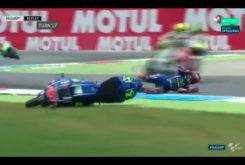 Caida Maverick Vinales MotoGP Assen 2017 01
