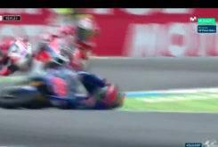 Caida Maverick Vinales MotoGP Assen 2017 02