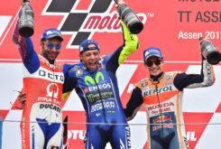 Podio MotoGP Assen 2017