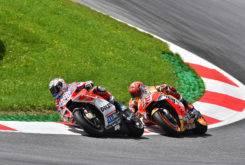 Andrea Dovizioso Marc Marquez MotoGP Austria 2017