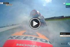 Marc Marquez Rompe Motor Silverstone 201717Play