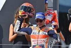 Marc Marquez podio MotoGP Austria 2017