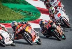 Moto3 Sancion 24 pilotos Moto3 Austria 2017