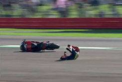 Pol Espargaro caida MotoGP Silverstone 2017