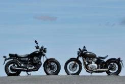 Triumph Bonneville Bobber vs Moto Guzzi V9 Bobber 31