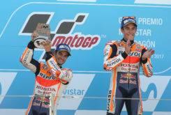 Dani Pedrosa MotoGP 2017 Aragon podio