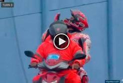 Marc Marquez besos grada MotoGP Misano 2017