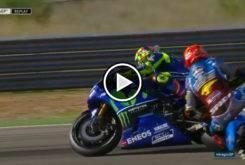 Tito Rabat Valentino Rossi warm up