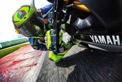 Valentino Rossi Test Misano Yamaha R6 01MBK