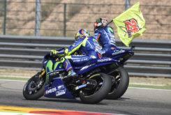 Valentino Rossi Maverick Vinales ordenes equipo Yamaha