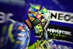 Valentino Rossi MotoGP Test Misano lesion
